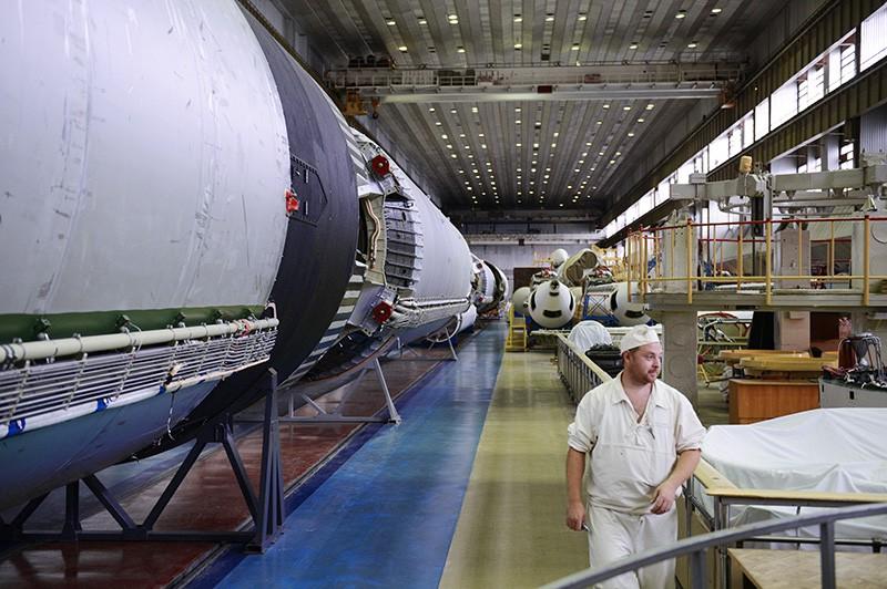 Цех Государственного космического научно-производственного центра имени М. В. Хруничева