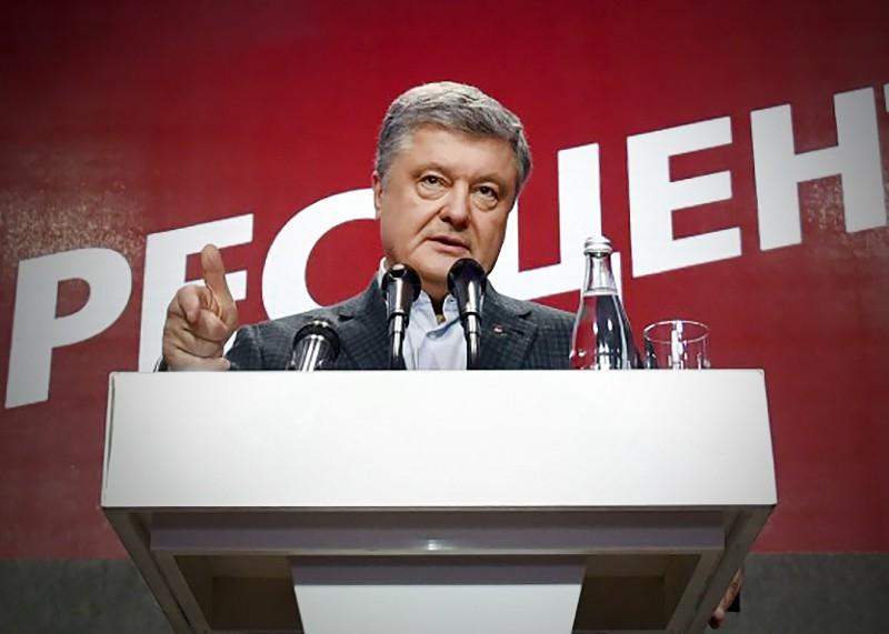 Пётр Порошенко на пресс-конференции