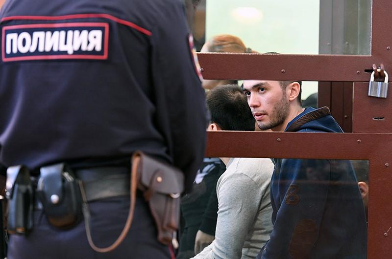Азамжон Махмудов, обвиняемый по делу об организации теракта в петербургском метро 3 апреля 2017 года