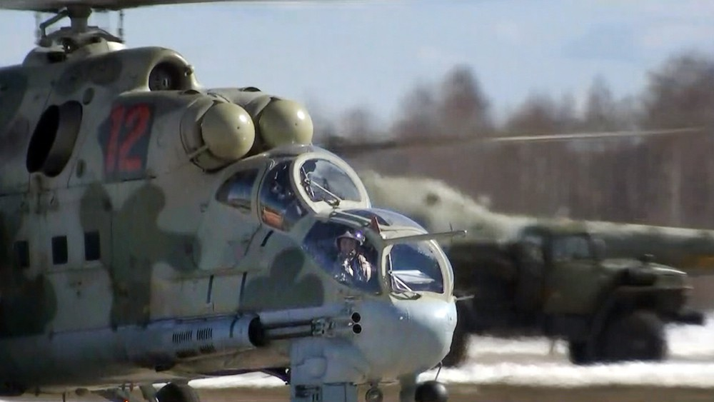 Вертолет ВКС России