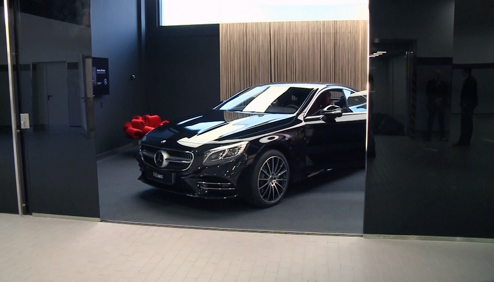 Дилерский центр Mercedes-Benz