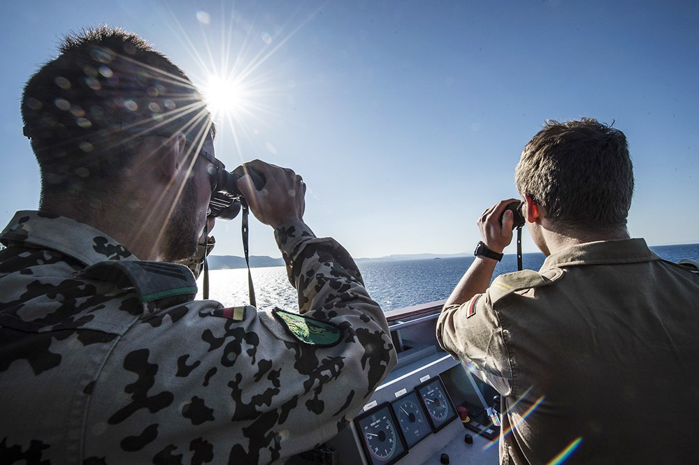Военнослужащие Германии сил ВМС НАТО