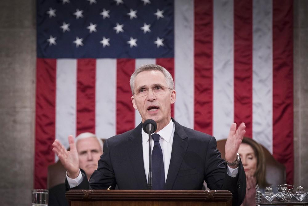 Йенс Столтенберг в Конгрессе США