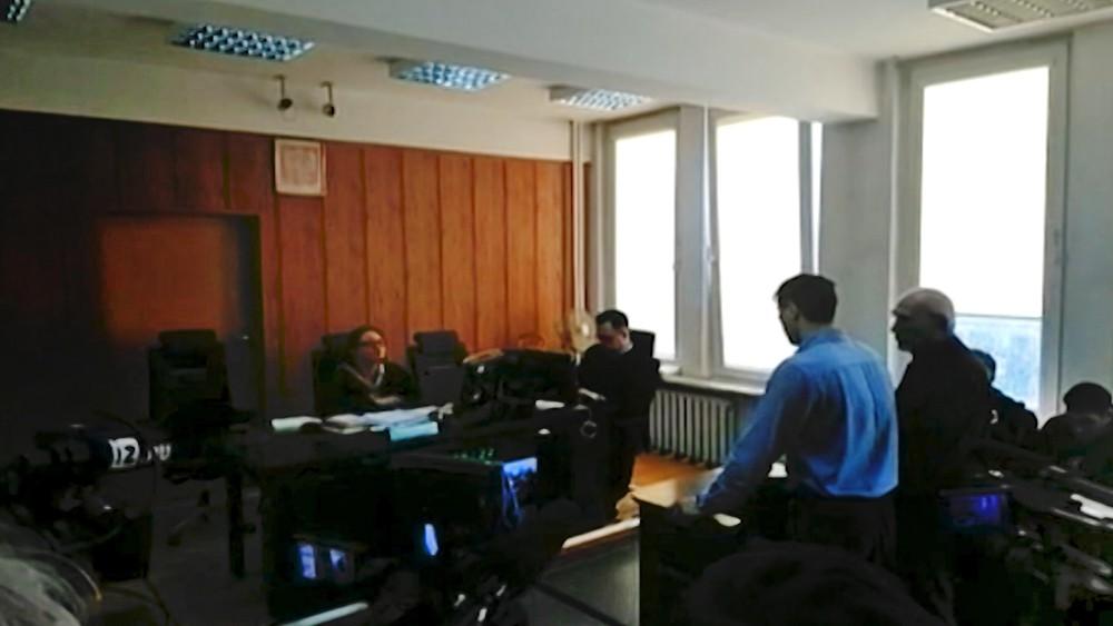 Денис Лисов в польском суде