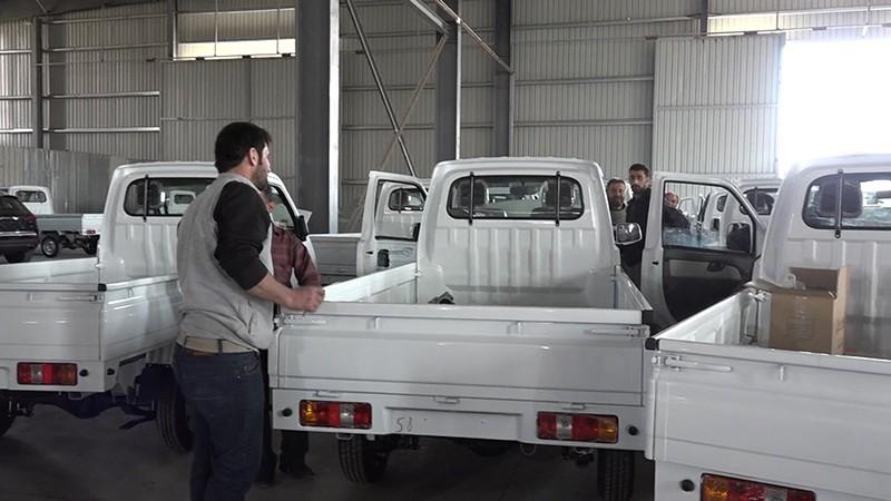 Автомобильный завод в Сирии