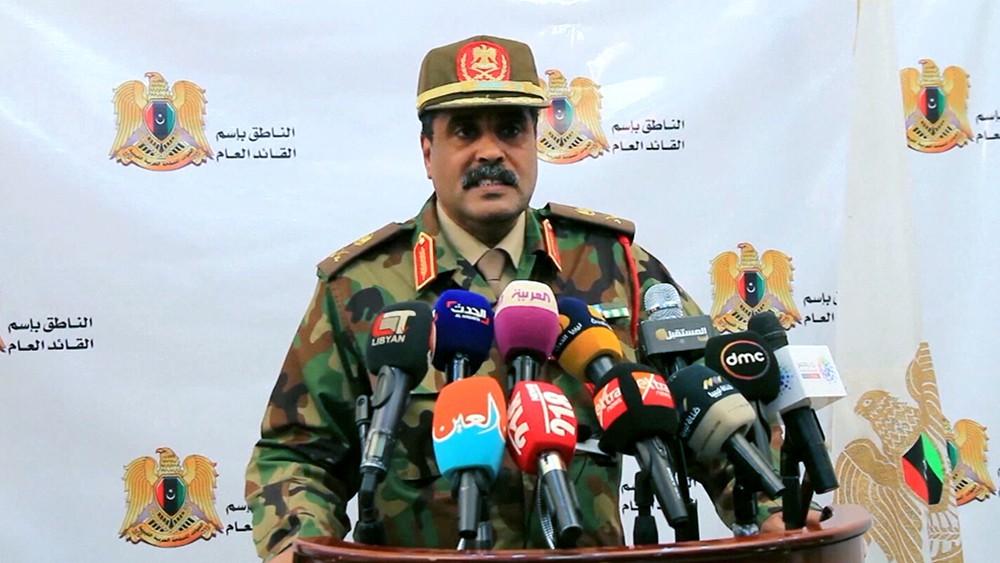 Фельдмаршал нацармии Ливии Халиф Хафтар