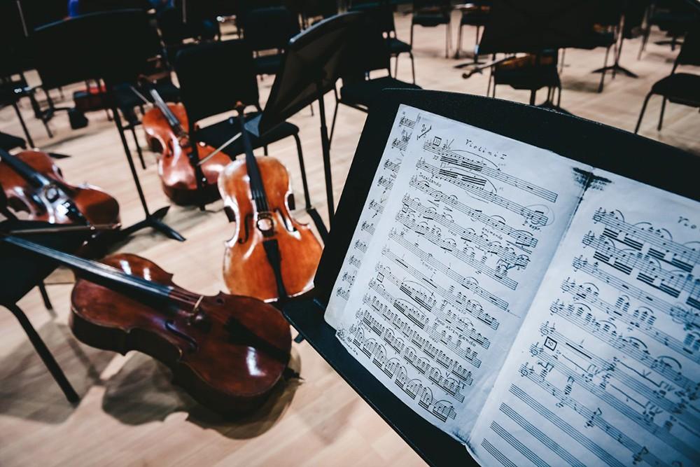 Музыкальные инструменты оркестра