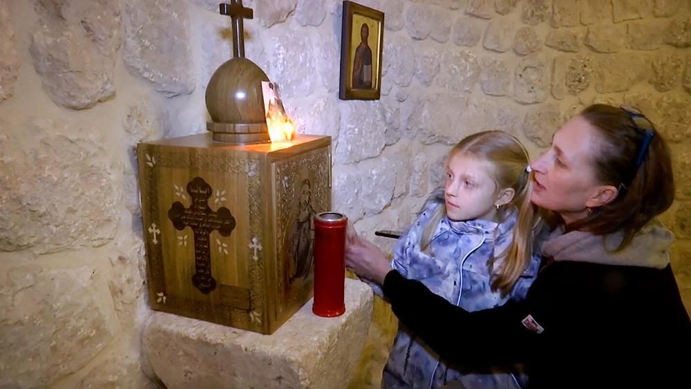 Православные паломники в Сирии