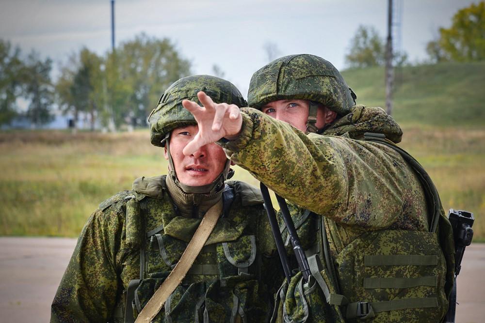 Российские военные