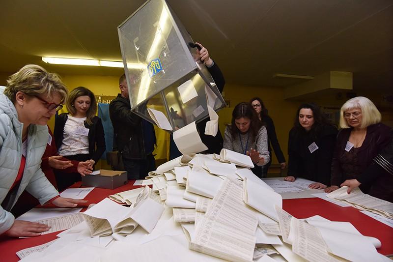 Подсчёт голосов на выборах президента Украины