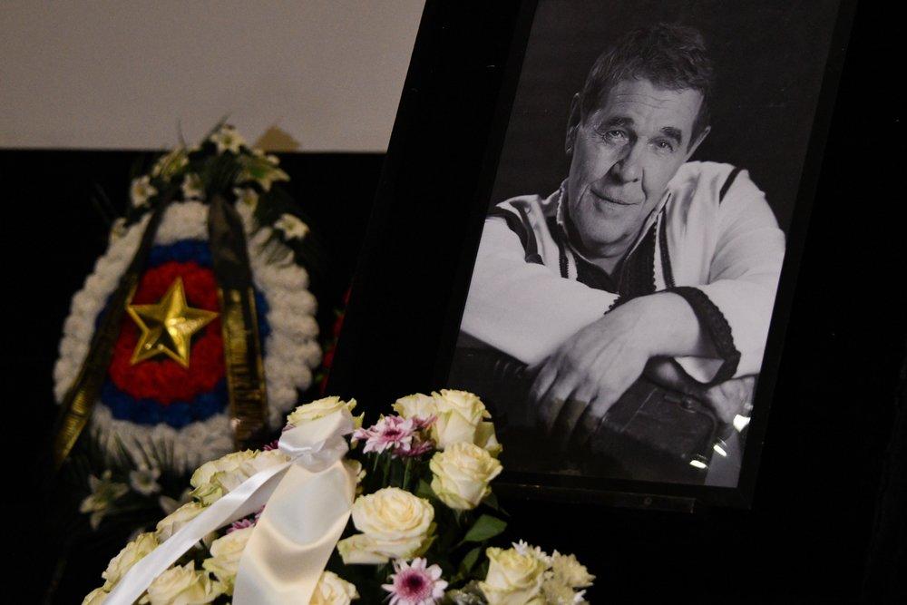 Прощание с народным артистом России Алексеем Булдаковым