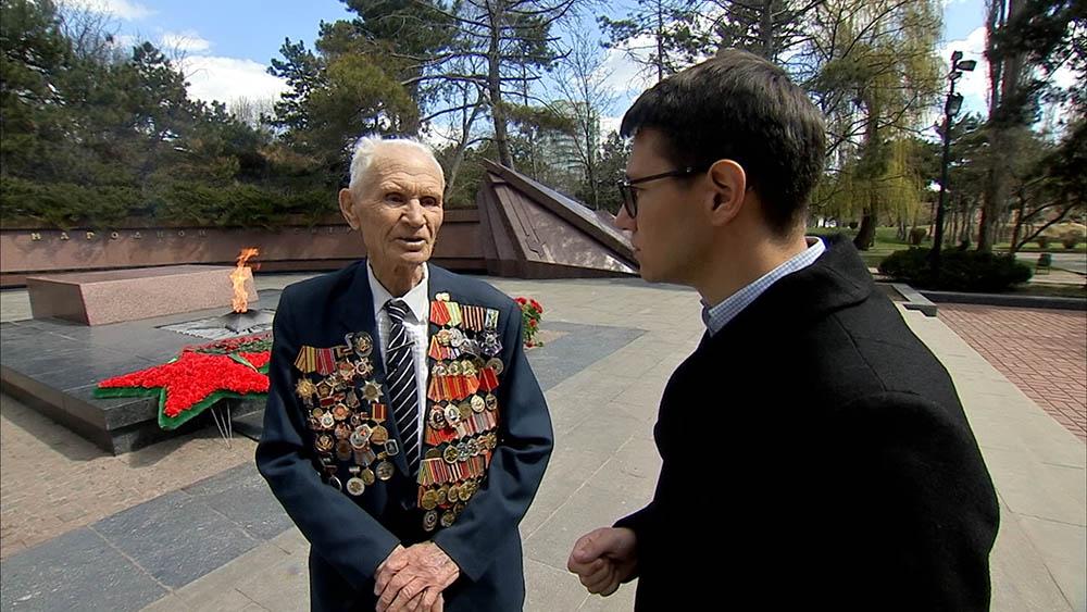 Ветеран ВОВ Иван Роба