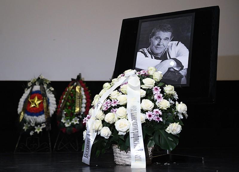 Прощание с народным артистом Алексеем Булдаковым