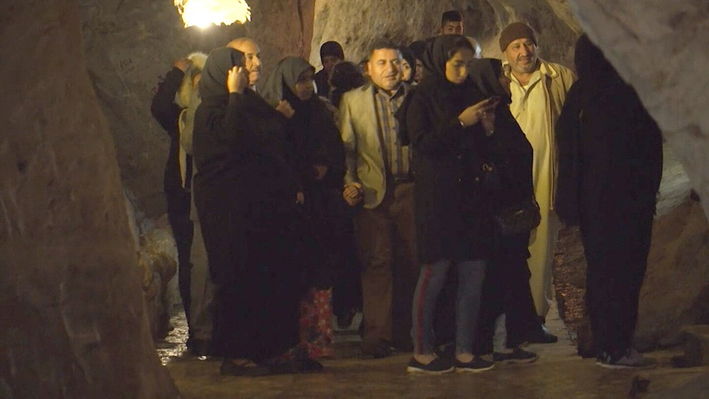Туристы в Сирии