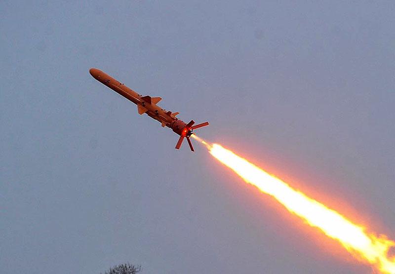 Испытание украинской ракеты