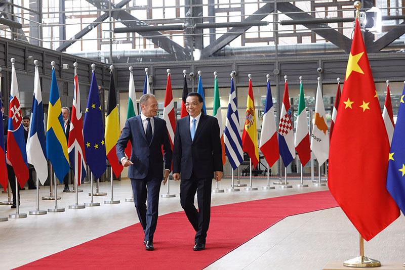 Саммит КНР-ЕС в Брюсселе