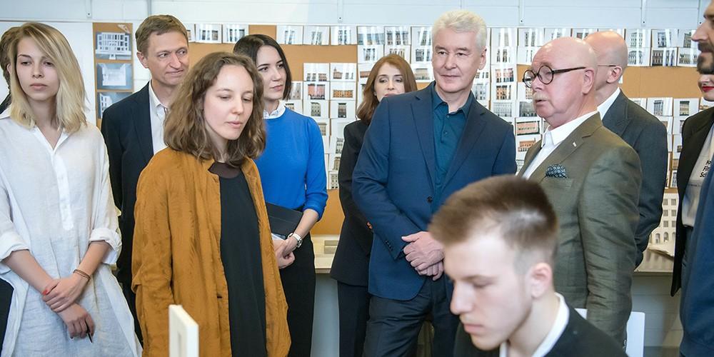 Собянин рассказал о создании в Москве креативных кластеров