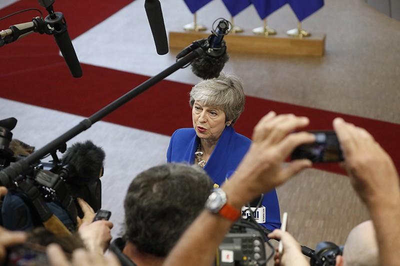 Тереза Мэй на саммите в Брюсселе