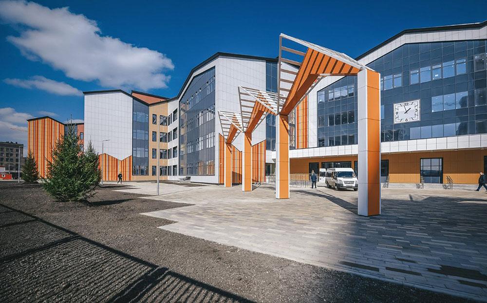 Осмотр хода строительства школы на территории бывшей промзоны ЗИЛ