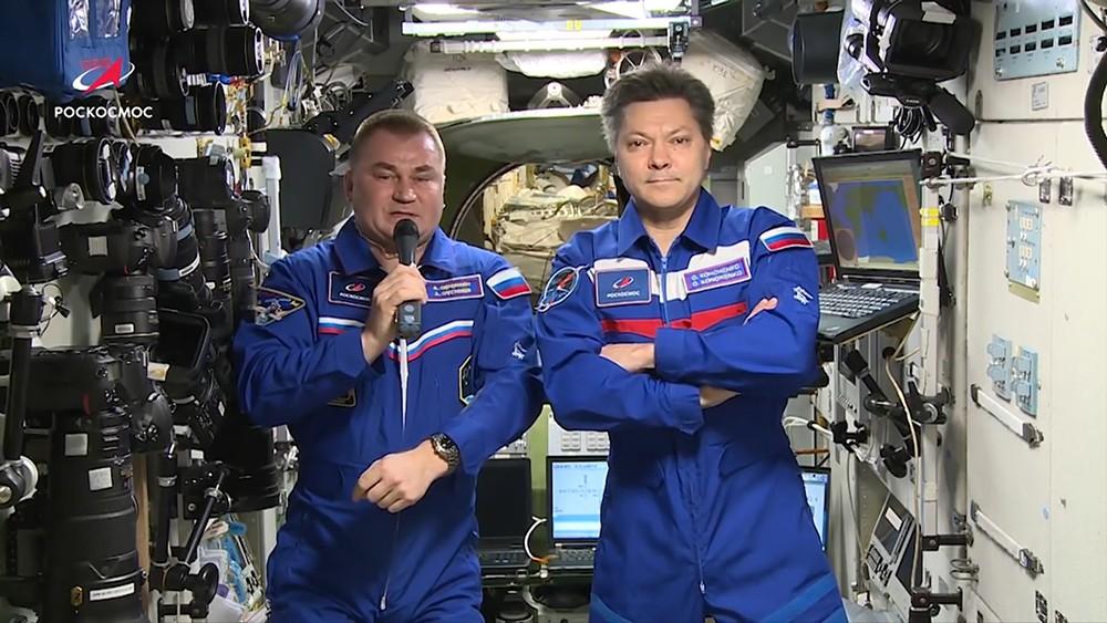 Российский экипаж МКС