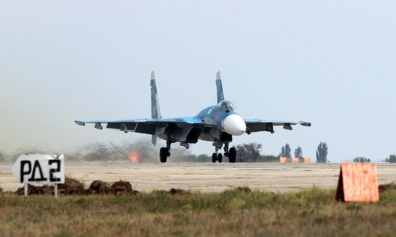 Истребитель Су-33