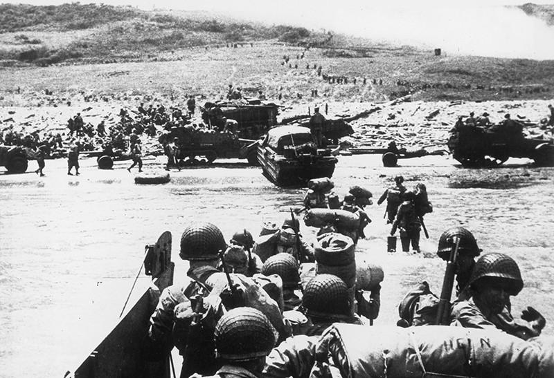 Высадка союзных войск в Нормандии
