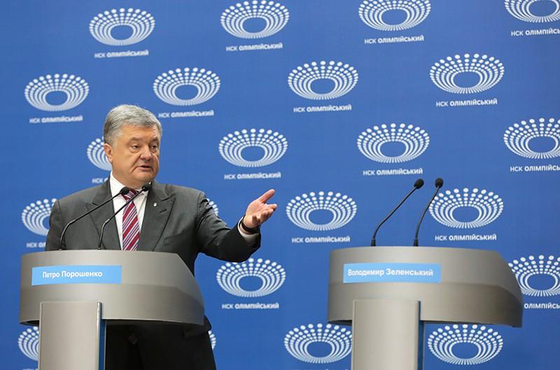 Петр Порошенко. Дебаты кандидатов в президенты Украины