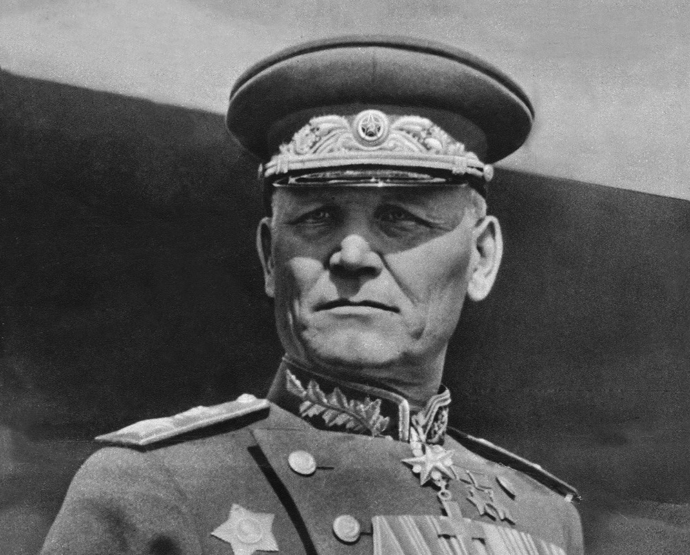 Конев Иван Степанович, маршал Советского Союза, дважды Герой Советского Союза