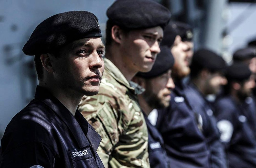 Моряки ВМС Великобритании