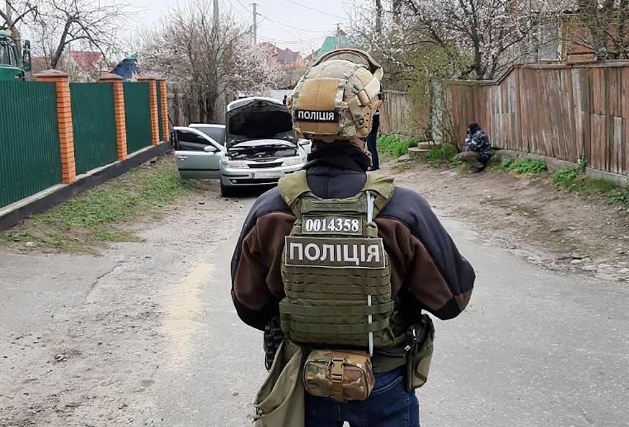 Спеоперация полиции Украины