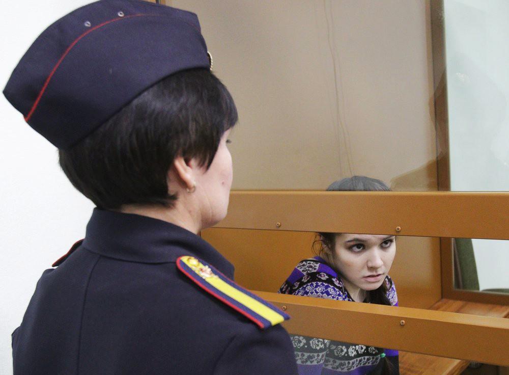 Варвара Караулова в суде