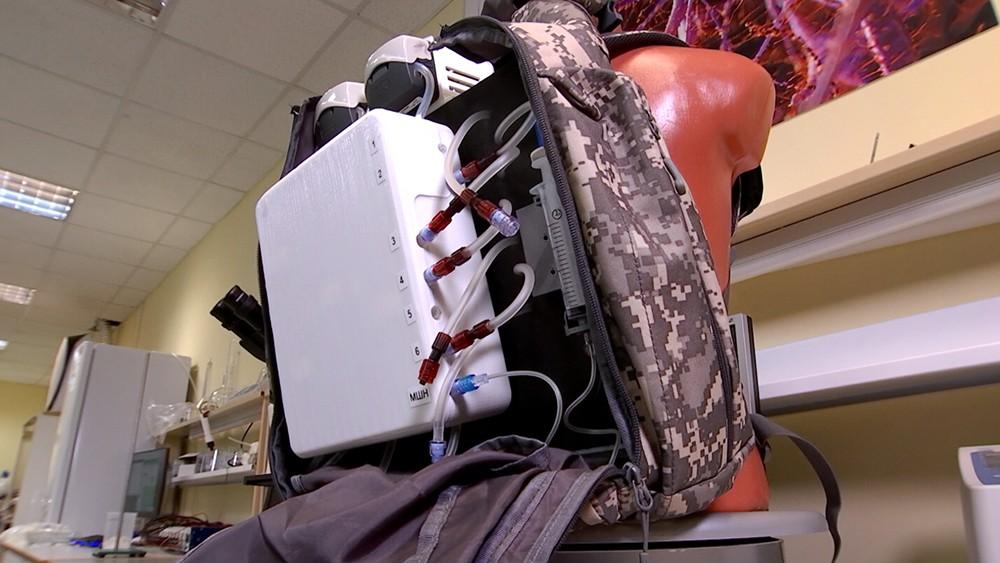 Портативный аппарат гемодиализа