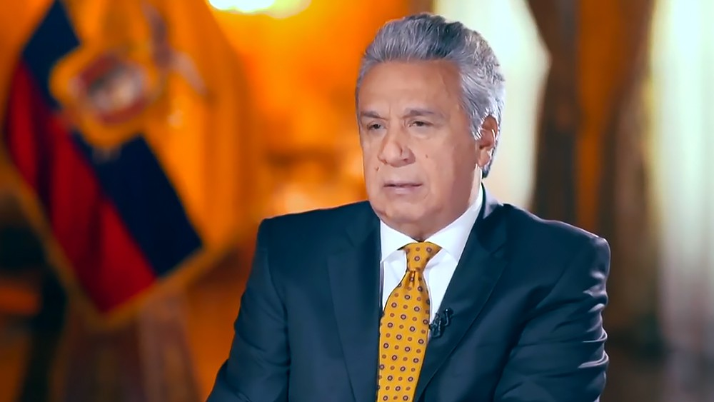 Президент Эквадора Ленин Морено