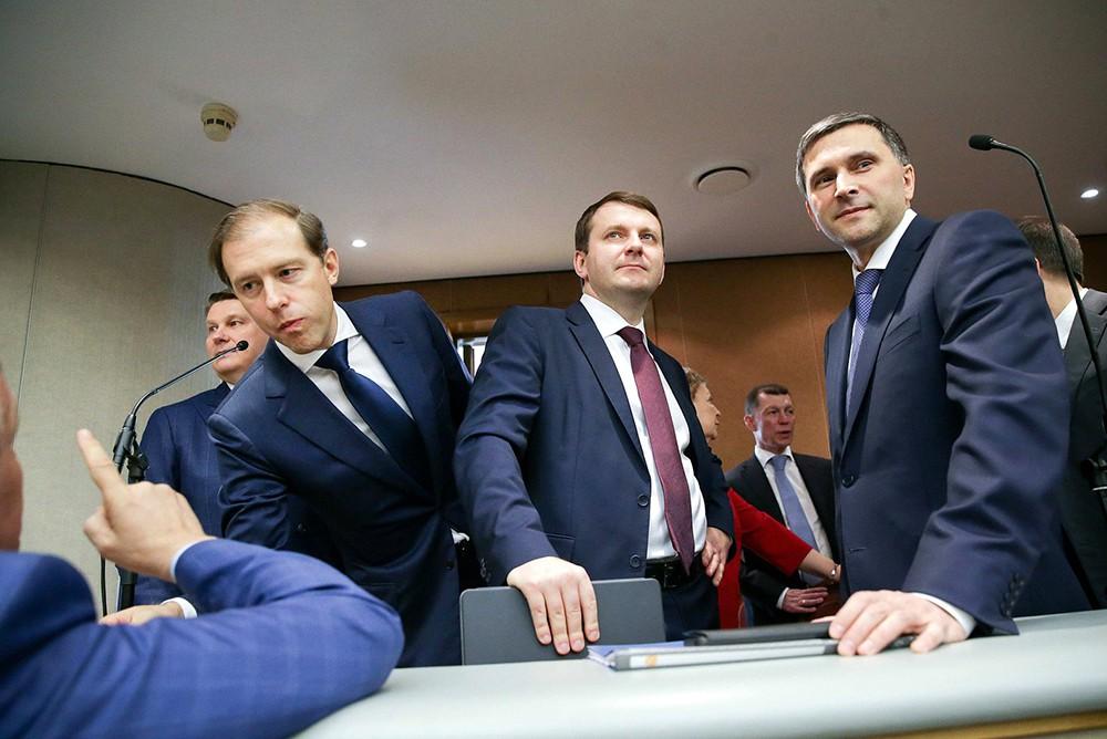 Члены правительства в Госдуме