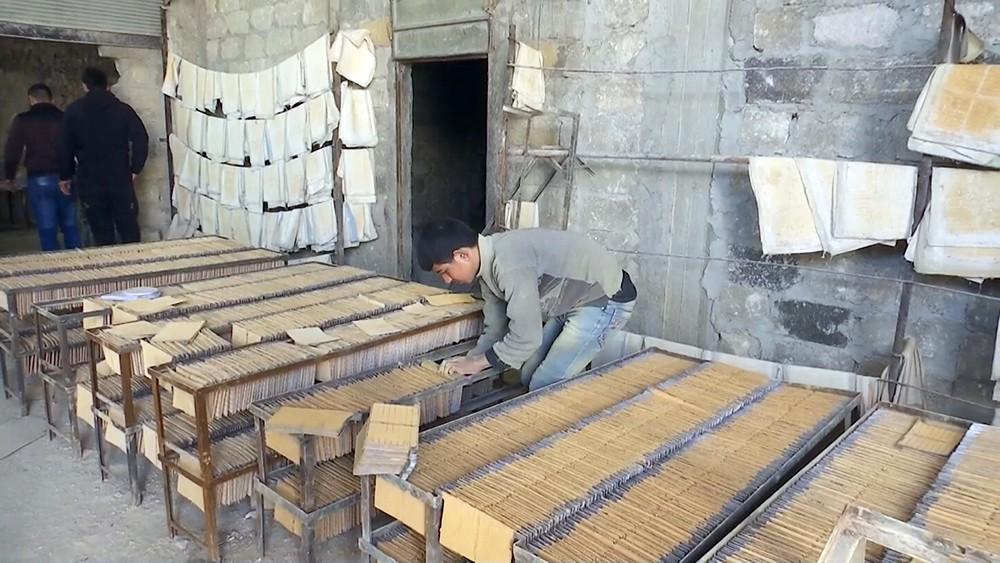 Восстановление промышленных предприятий в Сирии