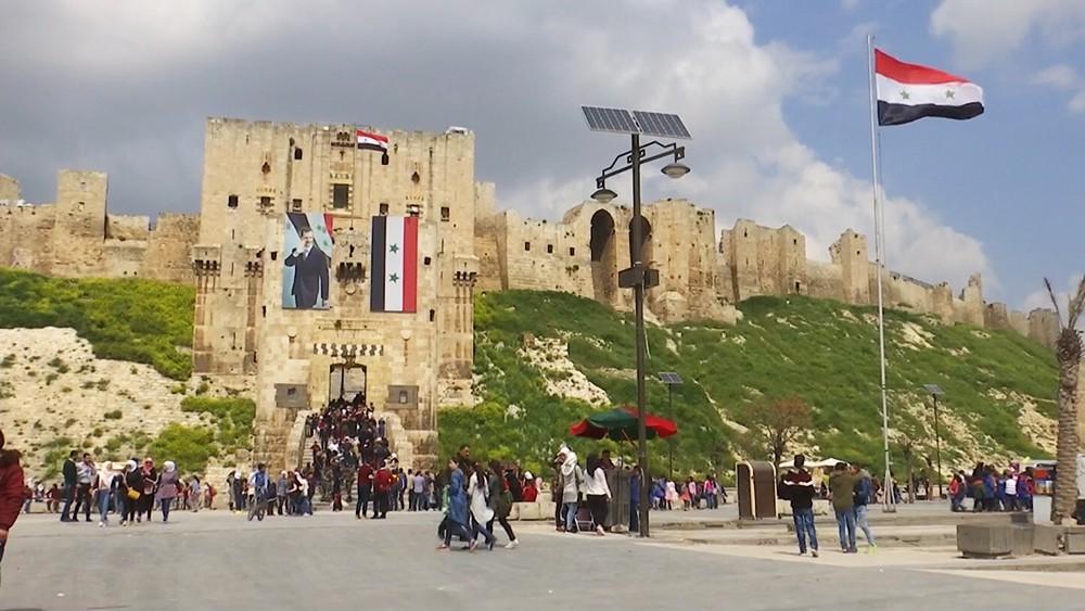 Cтаринные храмы в Сирии