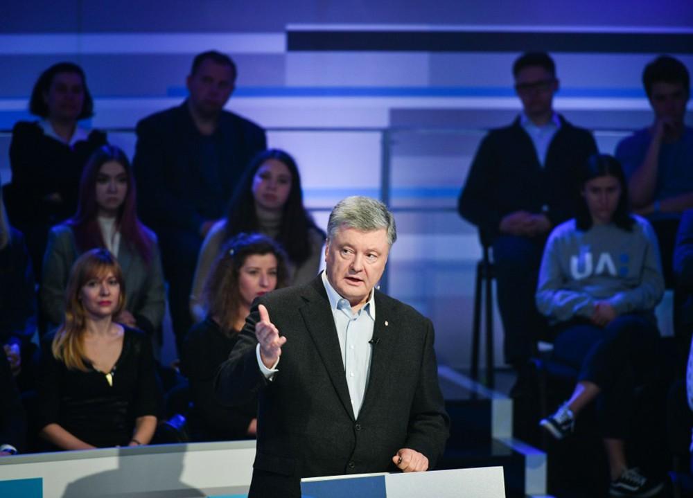 Пётр Порошенко на теледебатах