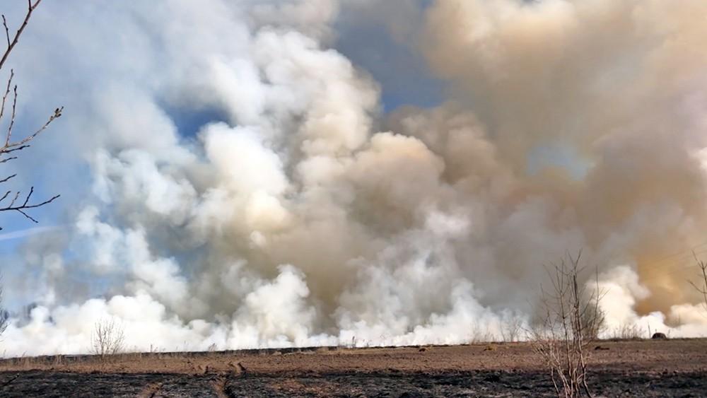 Степные пожары