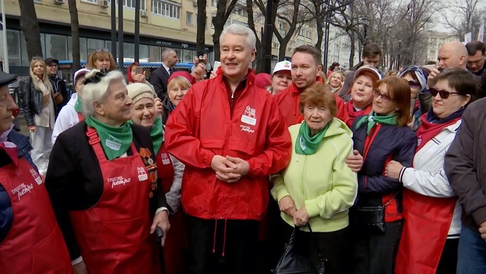 Сергей Собянин принял участие в субботнике