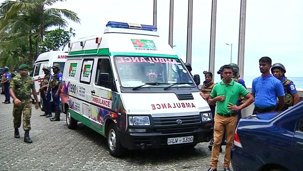 Скорая помощь на Шри-Ланке