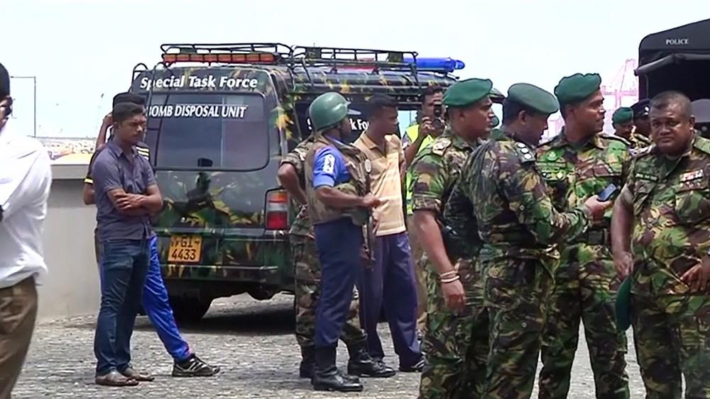 Полиция Шри-Ланки