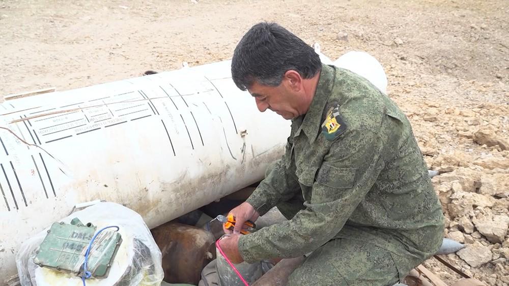Крупный склад боеприпасов в Сирии