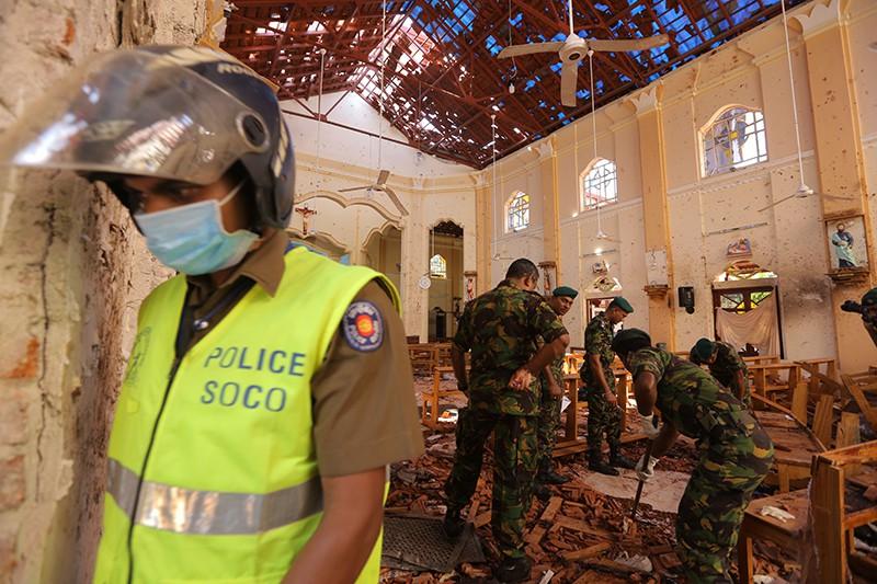 Теракт на Шри-Ланке