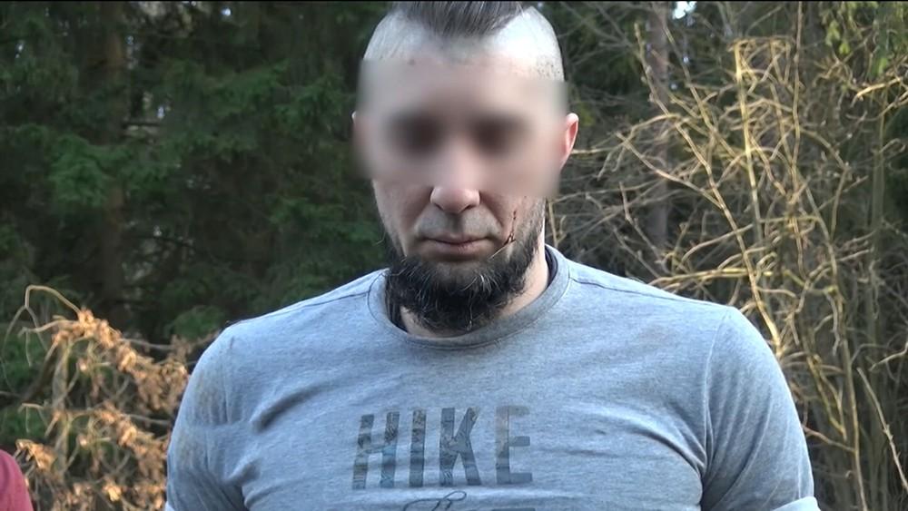 Задержанный продавец оружия