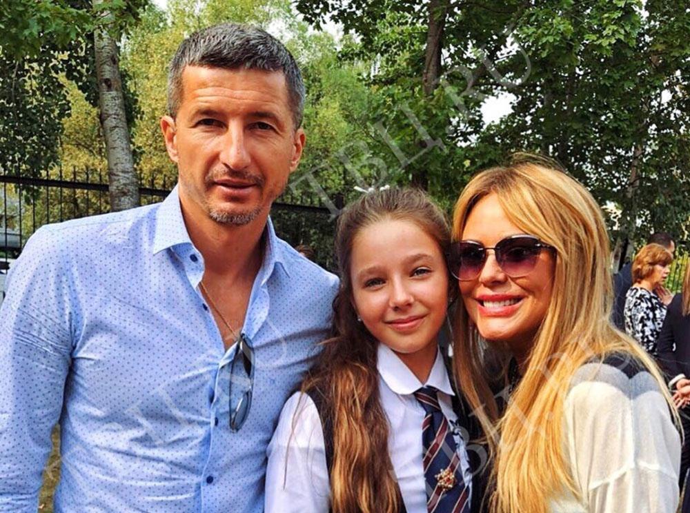 Юлия Началова, Евгений Алдонин и их дочь
