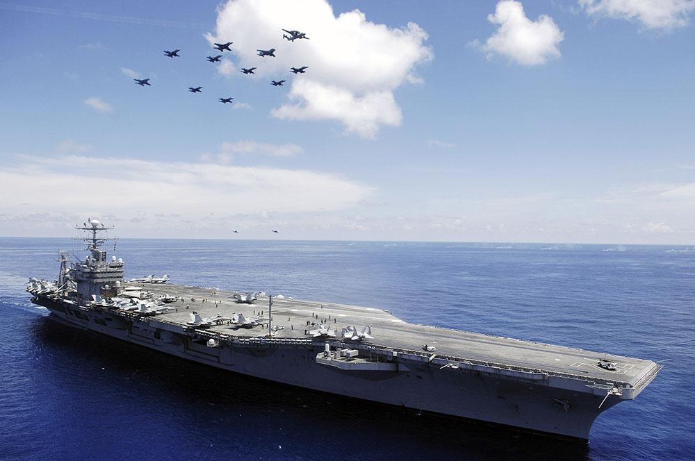 Крейсер USS Abraham Lincoln