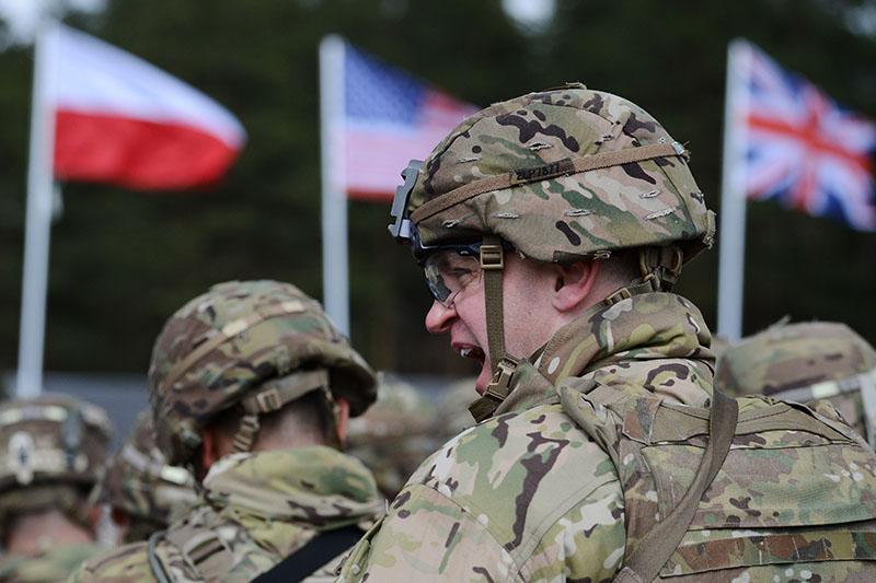 Солдаты стран НАТО