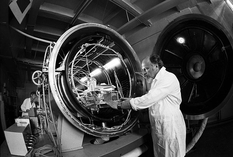 Специалисты особого конструкторского бюро. 1983 год