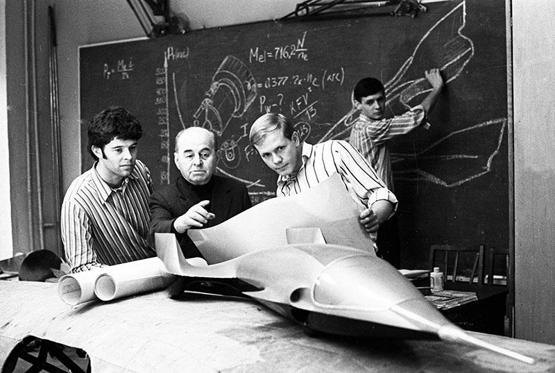 Проектно-конструкторского бюро. 1978 год