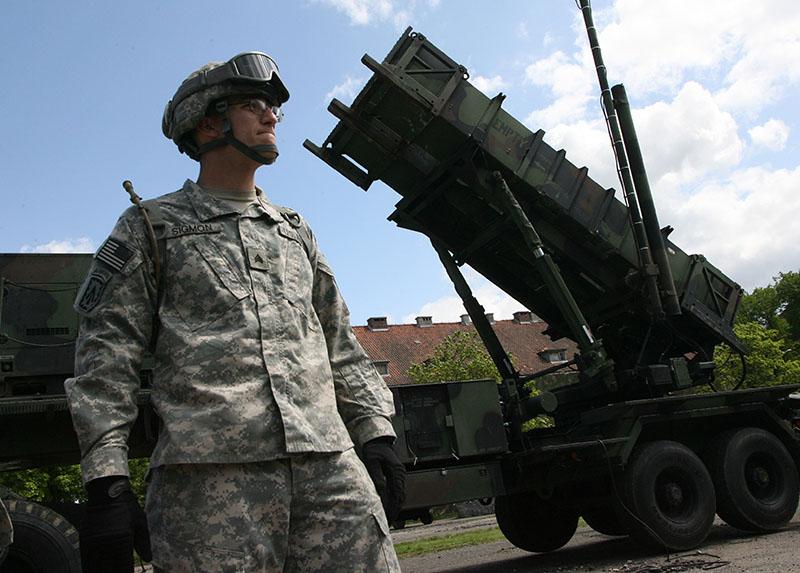 """Польша. Батарея американских ракет ПВО """"Пэтриот"""""""